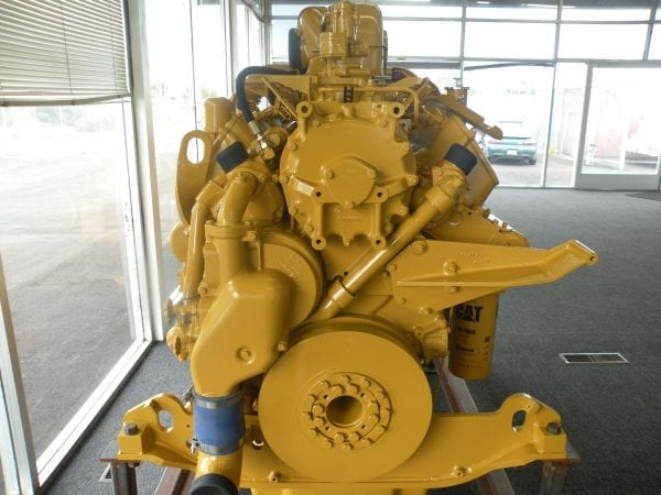 Front View of D10N Remanufactured CAT 3412 Diesel Engine