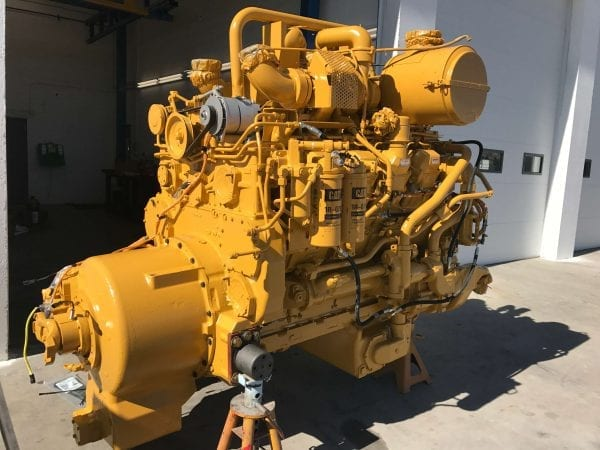 Three Quarter View D11R Remanufactured for CAT 3508