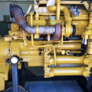 Side View of 773E Remanufactured CAT 3412 Diesel Engine for Sale