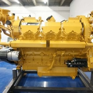 Side View of SMP Remanufactured C32 ACERT CAT Engine
