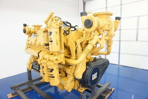 Corner View of SMP Remanufactured C32 ACERT Cat Engine