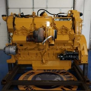 View Side of TLD Remanufactured C32 ACERT Engine