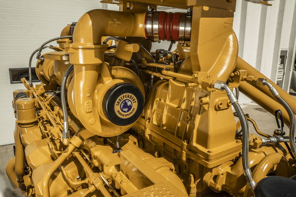 High View of 793D Remanufactured CAT 3516 Engine