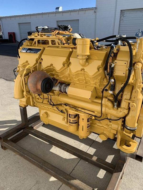 Side Corner C27 Remanufactured C32 ACERT CAT Industrial Engine