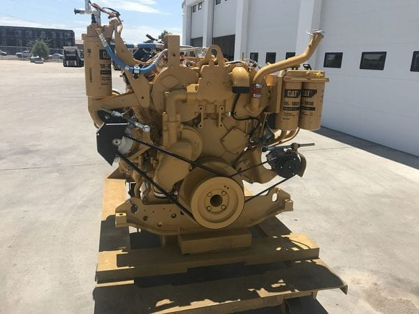 End View of D10T Remanufactured C27 ACERT CAT Engine