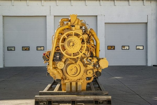 Front View of 793C Remanufactured 3516 Engine