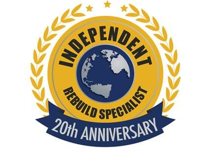 20th Anniversary IND Rebuild Celebration Graphic